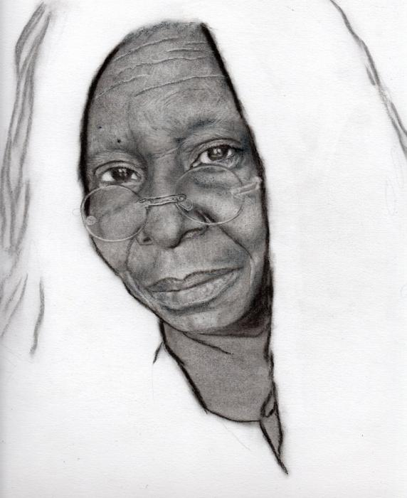 Whoopi Goldberg by Line-Art